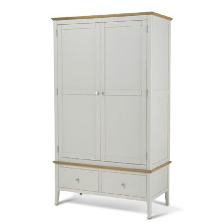 Kingston Painted Double Wardrobe